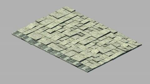 Damaged floor tiles 02