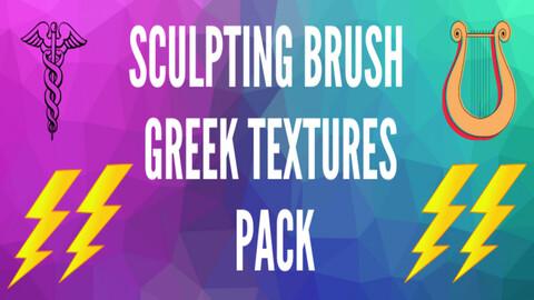 Sculpting Brush Textures Pack 3: Greek