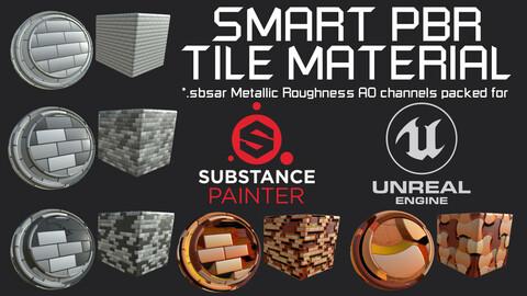 Smart PBR Tile Material