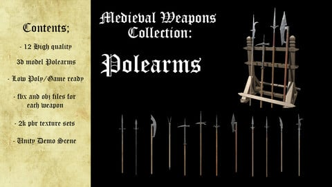 Medieval Weapons Collection - Polearms