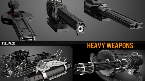 Heavy Weapons - Full Pack
