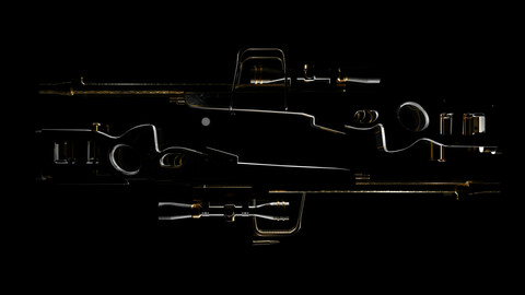 SV98 Golden Horn