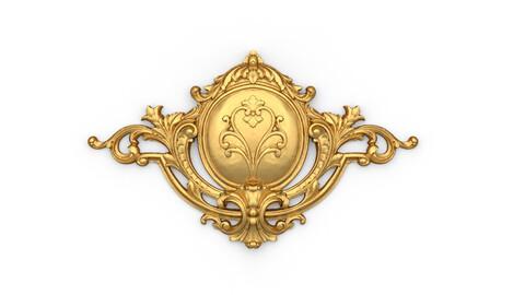 Classic decor ornament 02 3D print model