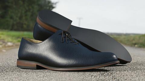 Realistic 3D model of Men's Shoes 12