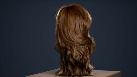 Alembic Hair(Groom Plugin) for Unreal Engine 4.26.2