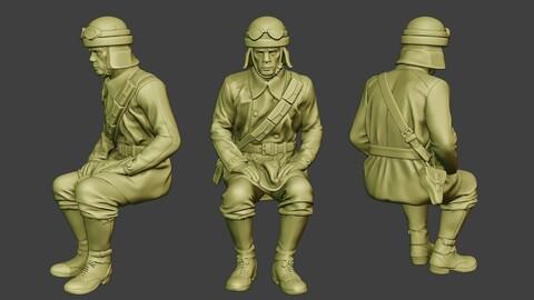 Italian Tank Crew Unit ww2 Sit2 ITCU1