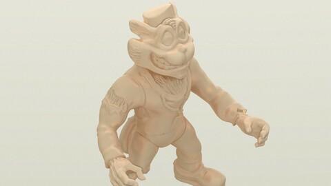 TMNT Scratch 3D Printable