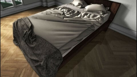Modern Bed 1