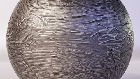 PBR - DUCT TAPE, DUCK TAPE , SILVER TAPE - 4K MATERIAL