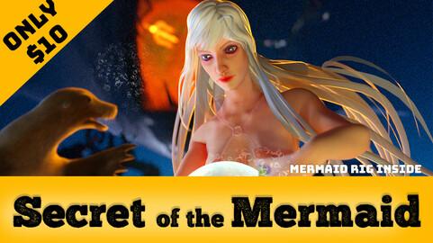 Underwater Mermaid (C4D & AE )