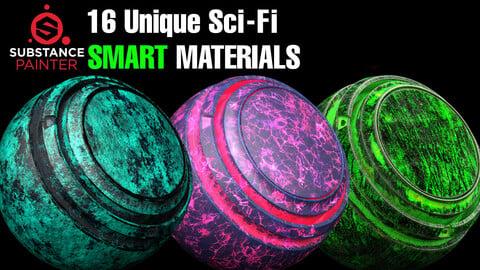 16 Unique Sci-Fi Smart Materials 🌟