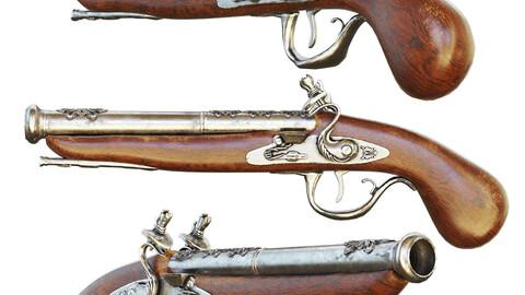 Ancient musket pistol