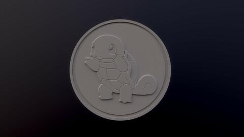 Squirtle 3D printable model - Pokémon collectibles