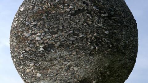 Gravel Grass 5 PBR Material