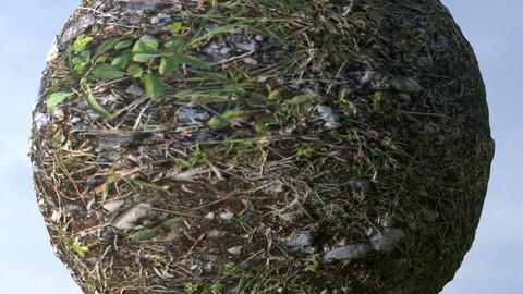 Gravel Grass 7 PBR Material