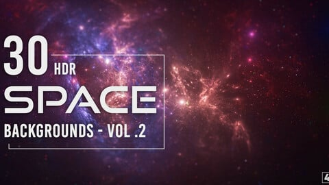 30 HDR Space Backgrounds - Vol. 2