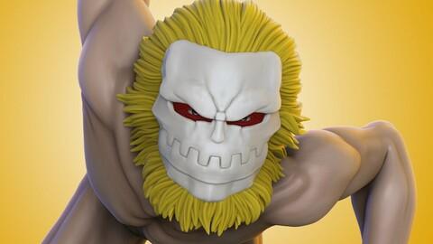 Galliard - Jaw Titan - Shingeki no Kyojin - 3D Print