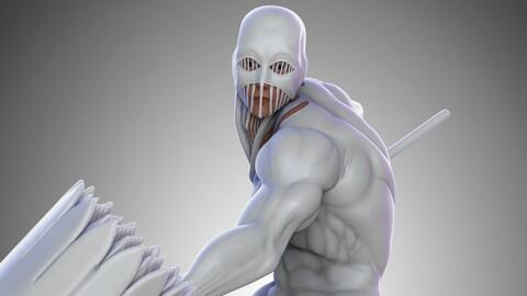 Okteri Aditya - Warhammer Titan  -Shingeki no Kyojin - 3D Print