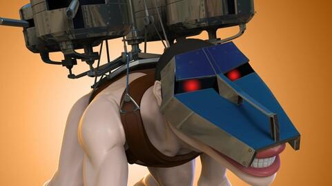 Pieck Finger - Cart Titan - Shingeki no Kyojin - 3D Print
