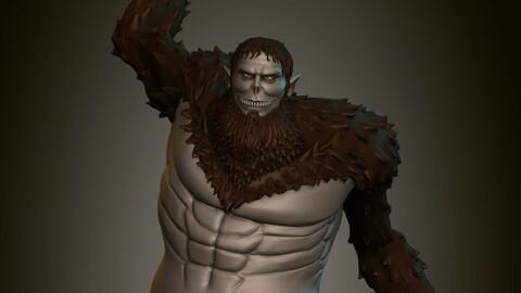 Zeke - Beast Titan - Shingeki no Kyojin 3D Print