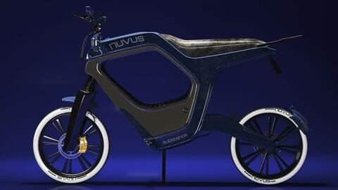 hard surface electric novus bike