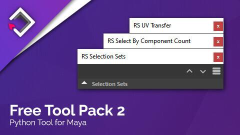 Free Tool Pack 2 for Maya