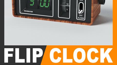 Retro Alarm Flip Clock