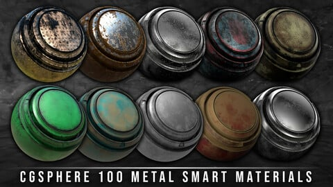 100 Metal Smart Materials