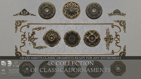 Classical Ornaments Detail