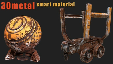 30 high quality metal smart material bundle