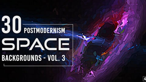30 Postmodernism Space Backgrounds - Vol. 3