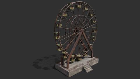 Abandoned Ferris Wheel PBR
