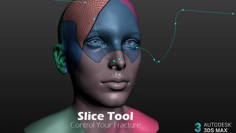 3DS MAX - Slice Tool