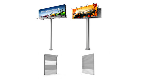 Highway Soundproof Barrier and Billboards