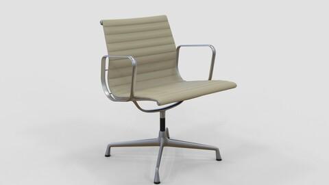 Vitra Aluminium Chair 107 Oyster