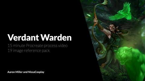 Verdant Warden - Painting an Elf in Procreate