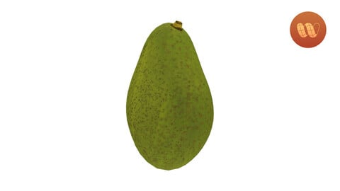 Avocado - Real-Time 3D Scanned Model