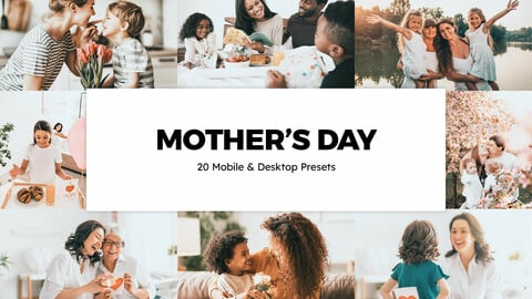 20 Mother's Day LUTs and Lightroom Presets