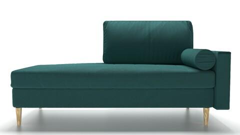 Couch Citeno Barhat Emerald