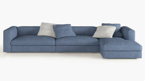 Corner Sofa, semi large size
