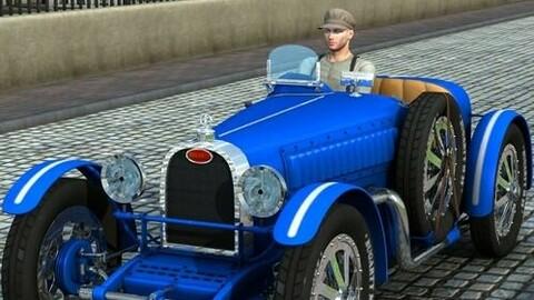 Grand Prix Racing Car 1926