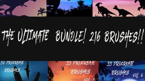 The Ultimate Dinosaur Bundle for Procreate - 200+ Brushes!