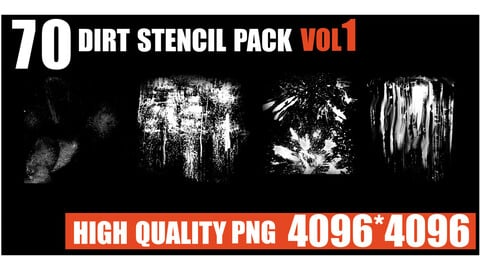 70 dirt stencil pack.vol1