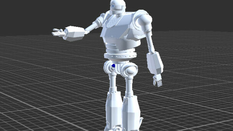 NPC Robot with 3 Animations