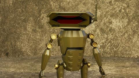 Sci-Fi Robot Scout