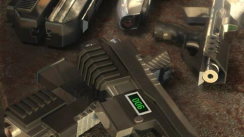 Science Fiction Pistols