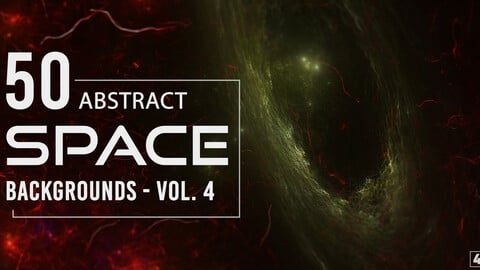 50 Abstract Space Backgrounds - Vol. 4