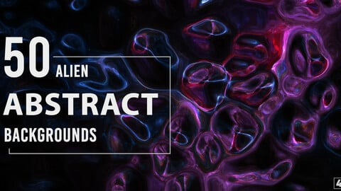 50 Alien Abstract Backgrounds