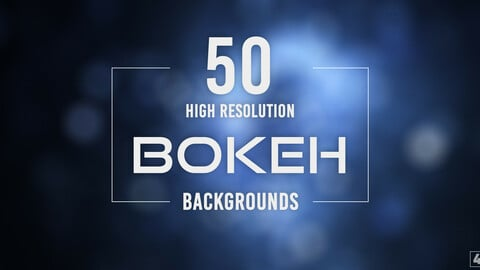 50 Bokeh 4K Backgrounds