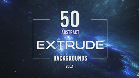 50 Extrude Backgrounds - Vol. 1